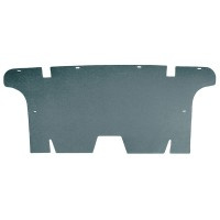 Rear Seat Divider Board Convertible & Hardtop 64-66