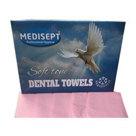 Medisept® Dental Towels Soft Tone Kleur: Roze, 125 stuks