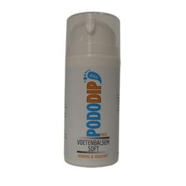 PodoDip Voetenbalsem Soft Honing & Yoghurt 100 ml