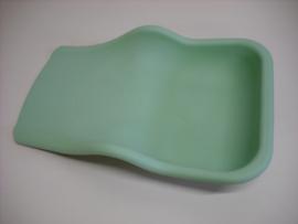 Pedicure Opvangschaal Flexibel Siliconen groen 1 st.