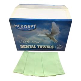 Medisept® Dental Towels Soft Tone Kleur: GROEN 500 stuks