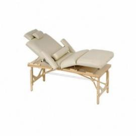 Luxe veelzijdige massagetafel, crème kleur