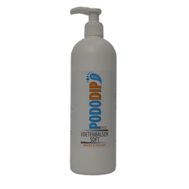 PodoDip Voetenbalsem Soft Honing & Yoghurt 500 ml
