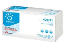 Papernet papieren handdoeken Special C-vouw 2-laags wit 144 vellen Cellulose