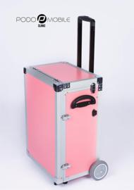 PodoMobile Maxi Pedicure Trolley Sweet Pink, elektrokabel twv 9.90 euro inbegrepen