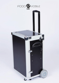 PodoMobile Maxi Pedicure Trolley Brush Black + el. kabel inbegrepen