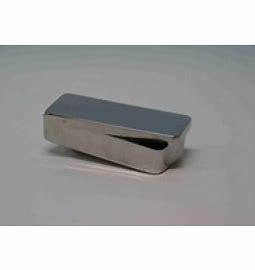 Inox instrumentendoos 19 x 10 cm