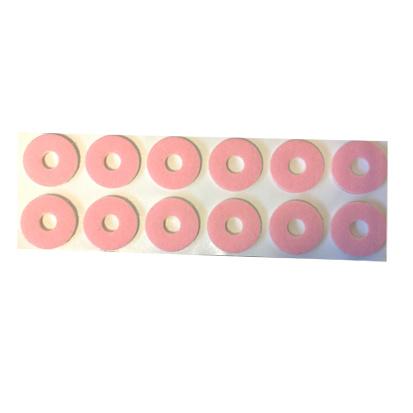 Podo Colonia Foam/Vilt Ringen Roze Rond Klein Zelfklevend 12 stuks