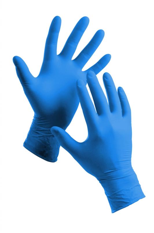 Nitrile Handschoenen, Small, blauw