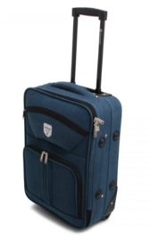 Canvas Trolley, blauw
