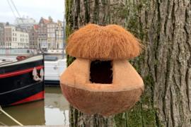 Kokosnoot Vogelhuisje
