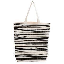 Bio Cotton City Bag, Wrapping Stripes