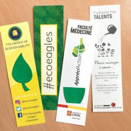 Large Eco Bookmark, zonder een geprint vormpje