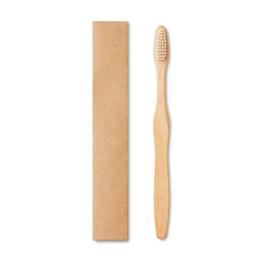 Bamboe Tandenborstel Met Nylon Haartjes