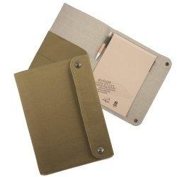 A4 notitieblok houder met 80 gerecycled papier Harvet