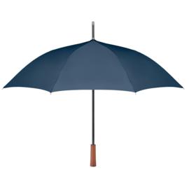 Paraplu met houten handvat