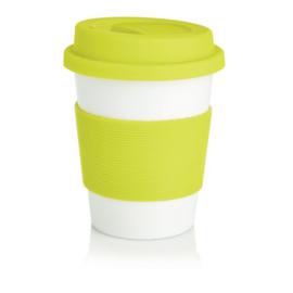 ECO PLA Koffiemok, Lime Groen