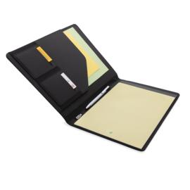 A4 basic RPET portfolio, zwart