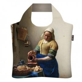 ECOZZ opvouwbare tas Vermeer Het melkmeisje