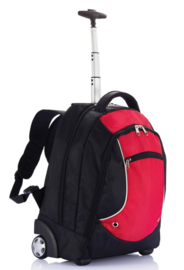 Denver Backpack Trolley, rood