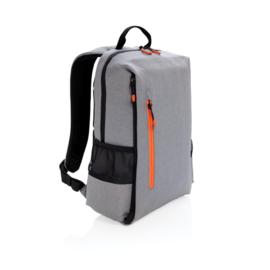 "Lima 15"" laptop rugzak met RFID & USB, grijs"