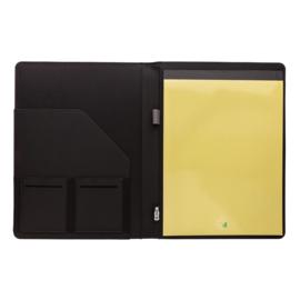 A4 basic RPET portfolio, grijs