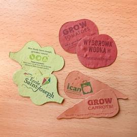Vormen groeipapier - groente