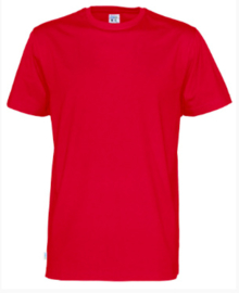 Cottover T-shirt, rood