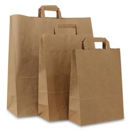 Gerecyclede Papieren Tassen Van Duurzaam Materiaal, Bruin