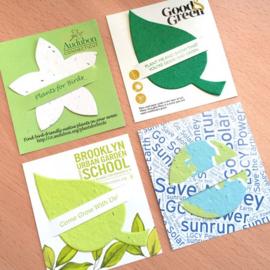 Mini Slot Cards, met plantaardig vormpje