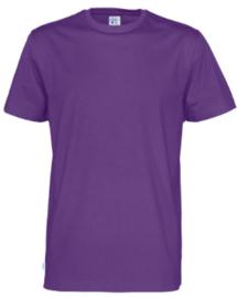 t-shirt Men Cottover kleur paars