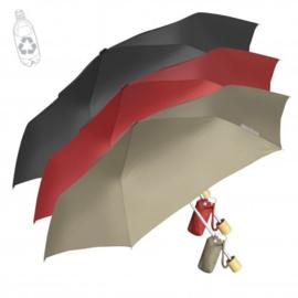 2 In 1 Paraplu Met Bamboe Handvat, Gemaakt van RPET