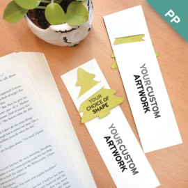 Large Eco Bookmark, met slotje