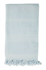 Terry Hammam Towel, Ice Blue
