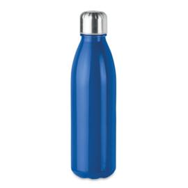 Drinkfles met RVS Dop, Blauw