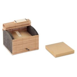 Bamboe notitieblok