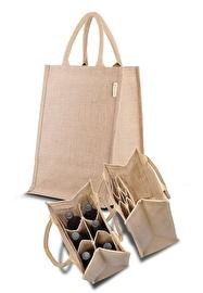Jute Combi Bag Multifuntional
