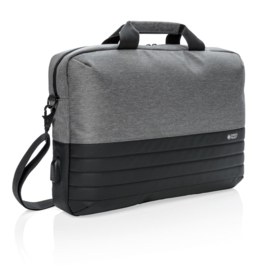 "Swiss Peak RFID 15"" Laptoptas, Grijs"