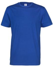 t-shirt Men Cottover kleur kobalt