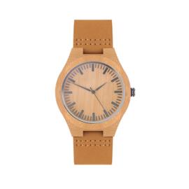 Lederen horloge