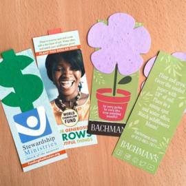 Small Eco Bookmark, zonder een geprint vormpje