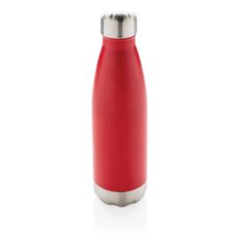 Vacuüm geïsoleerde roestvrijstalen fles, rood
