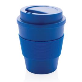 Herbruikbare Koffiebeker met Schroefdop, Blauw