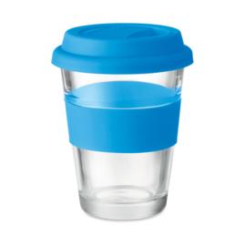 Glazen Drinkbeker, Blauw
