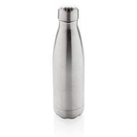 Vacuüm geïsoleerde roestvrijstalen fles, grijs