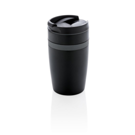 Dubbelwandige Lekvrije Koffiemok, Zwart