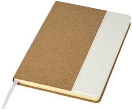 A5 formaat notitieboek, gemaakt van kurk