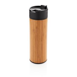 Bamboe lekvrije isoleer koffiebeker