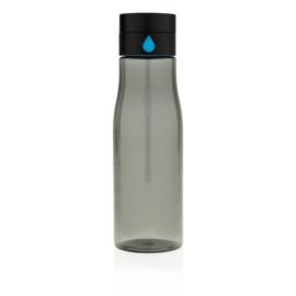 Aqua hydratatie tritan fles, zwart