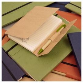 Eco notitieboek Summer kleur natural